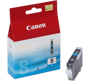 Картридж Чернильница Canon CLI-8C Blue 0621B024