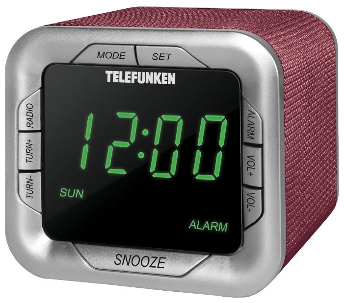 Радиоприемник TELEFUNKEN TF-1505 Burgundy/Green