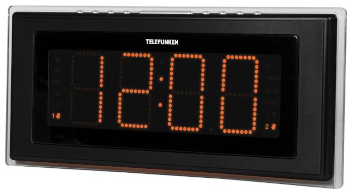 Радиоприемник TELEFUNKEN TF-1541 Black/Orange