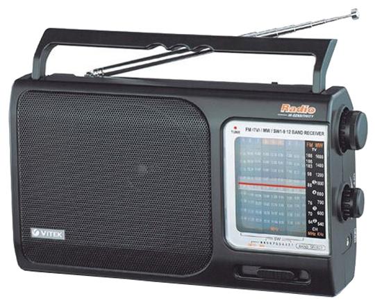 Радиоприемник Vitek VT-3582 BK Чёрный