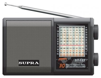 Радиоприемник SUPRA ST-123