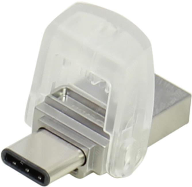 Usb-флешка Kingston DataTraveler microDuo 3.0 64GB (USB 3.1 + Type C) DTDUO3C/64GB