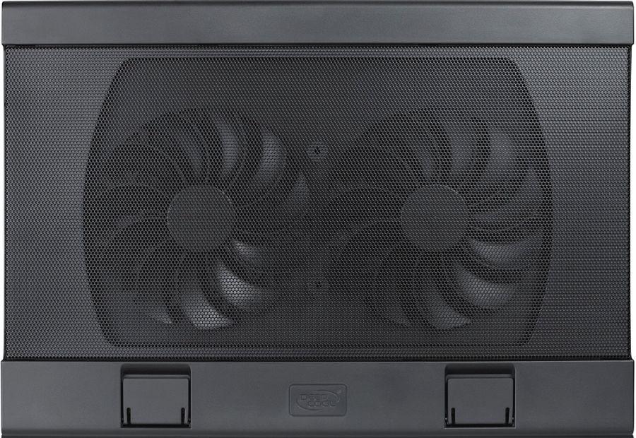 """Подставка для ноутбука Deepcool WIND PAL FS (охлаждающая, 15,6""""), чёрная"""