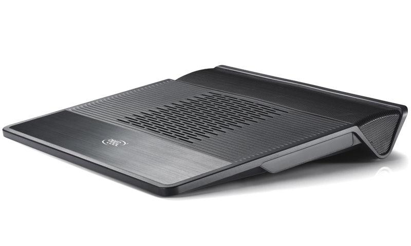 """Подставка для ноутбука Deepcool M3 (охлаждающая, 15,6"""", встроенная акустика 2.1), чёрная M3 BLACK"""