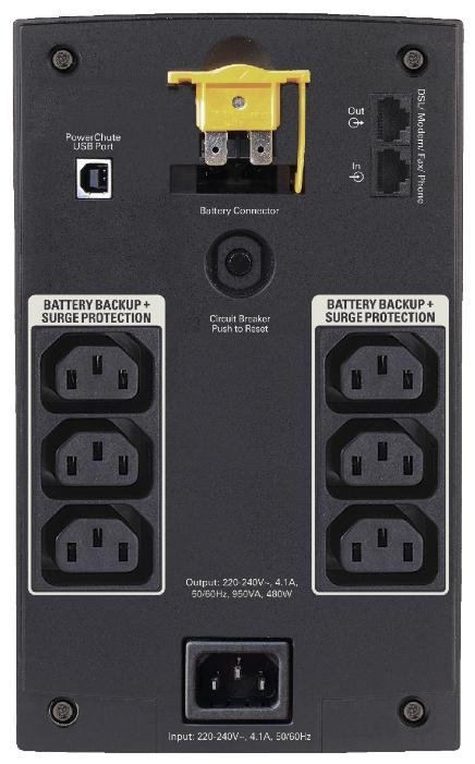 Источник бесперебойного питания APC-by-Schneider-Electric ИБП APC BX950UI