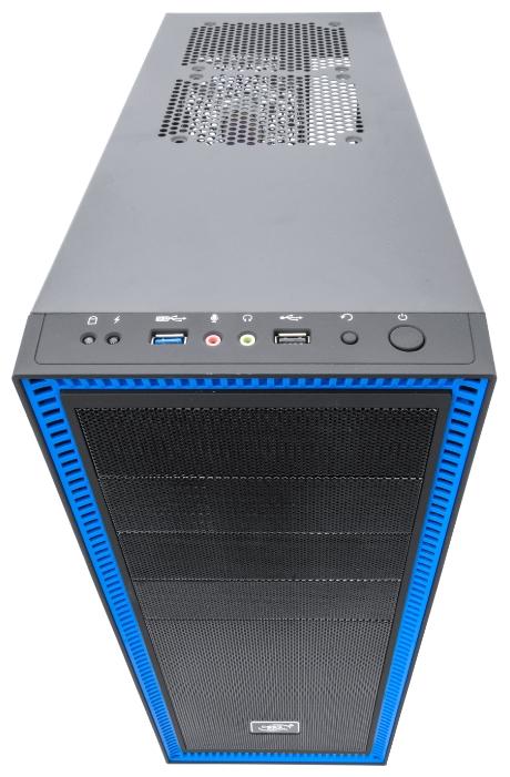 Корпус ATX Deepcool TESSERACT SW боковое окно, без БП черный
