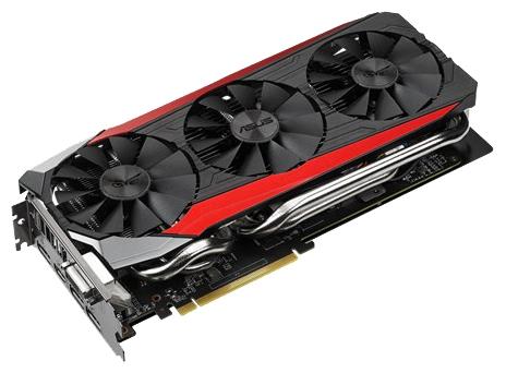 ���������� Radeon ASUS PCI-E Radeon R9 390X 8Gb 512Bit STRIX-R9390X-DC3OC-8GD5-G
