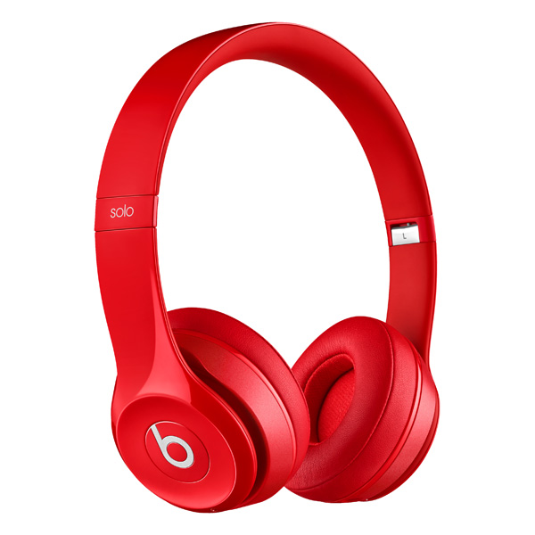 Beats Solo2 Wireless (MHNJ2ZE/A), красная