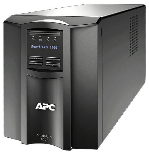 Источник бесперебойного питания APC by Schneider Electric Smart-UPS 1000VA LCD 230V SMT1000I