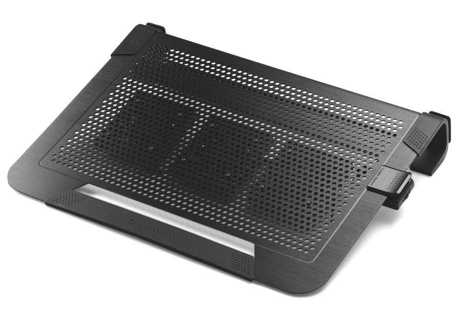 """Подставка для ноутбука Cooler-Master Cooler Master NotePal U3 Plus (охлаждающая, 19""""), чёрная R9-NBC-U3PK-GP"""