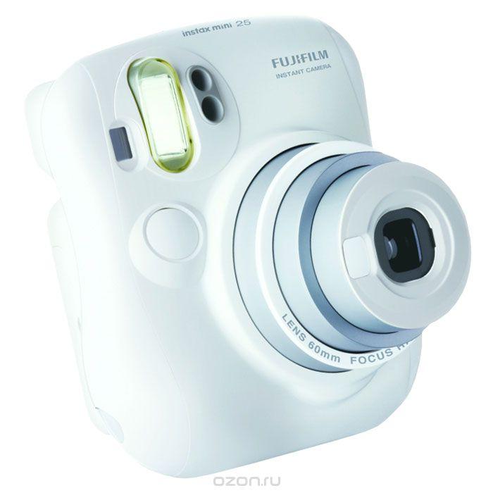 Фотоаппарат моментальной печати Fujifilm Instax Mini 25, белый Instax Mini 25 White