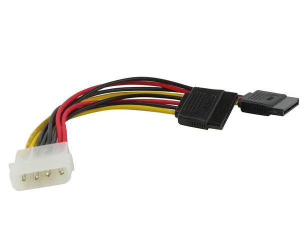 ������ (����) VCOM Molex(M) � 2 x Power SATA(F) (VPW7572), 15 ��