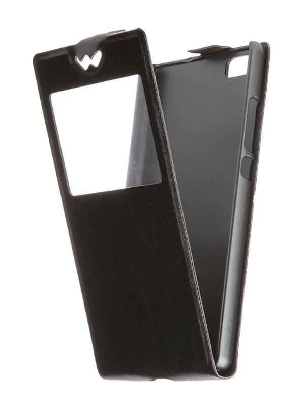 SkinBox для Huawei P8 Черный T-S-HP8-001