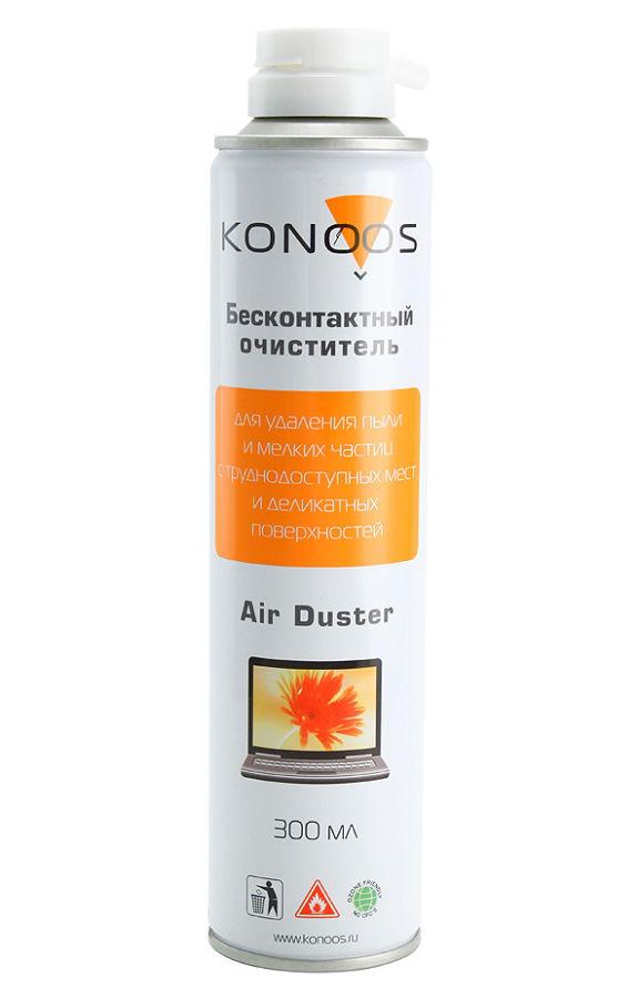 Чистящая принадлежность для ноутбука Konoos KAD-300 (баллон с газом), 300 мл