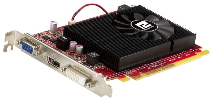 Видеокарта Radeon PowerColor Radeon R7 240 750Mhz PCI-E 3.0 2048Mb 1600Mhz 128 bit DVI HDMI HDCP AXR7 240 2GBK3-HV2E/OC