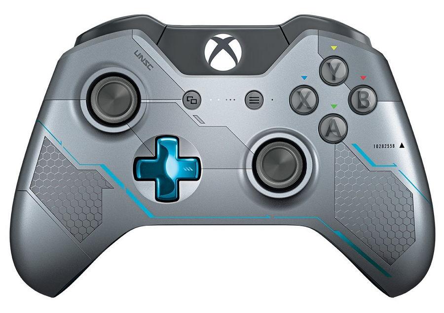 Геймпад MICROSOFT Xbox One Wireless Controller (Halo 5 Guardians - Spartan Locke) GK4-00007