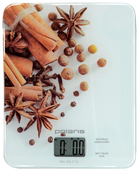 Кухонные весы Polaris PKS 0832DG с принтом специи PKS 0832DG Spice