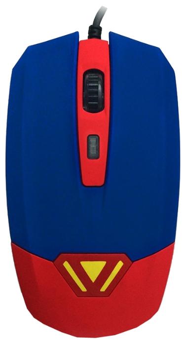 Мышка CBR CM-833 Superman, оптическая, USB, с виброприводом CM833 Superman
