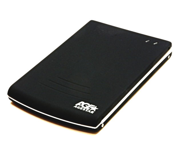 Корпус жесткого диска Agestar SUB2O5 (внешний, SATA / mini-USB) SUB205 Black