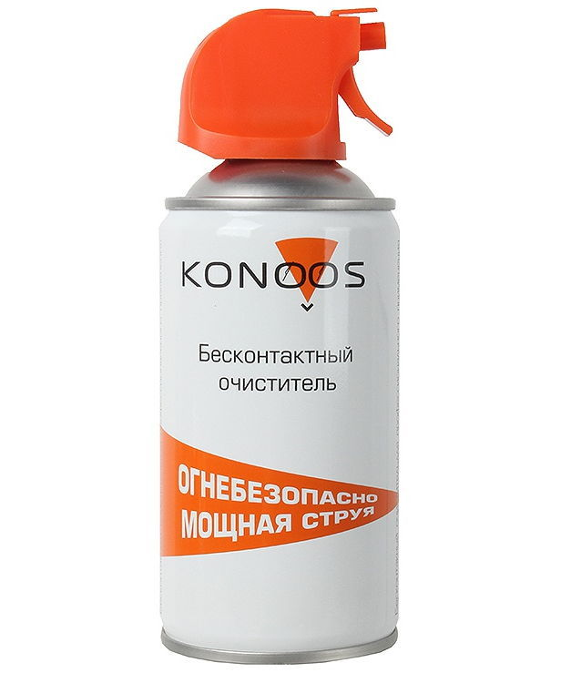 Чистящая принадлежность для ноутбука Konoos KAD-520F (баллон с воздушной смесью), 520 мл