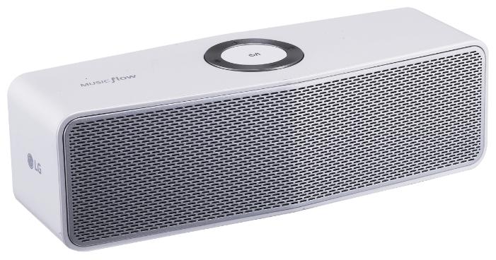 Портативная акустика LG NP7550W, портативная, белая