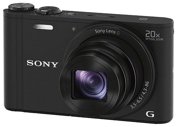 Цифровой фотоаппарат SONY Cyber-shot DSC-WX350 черный DSCWX350B.RU3