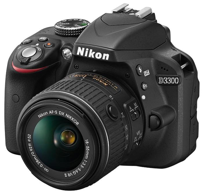 Цифровой фотоаппарат Nikon D3300 KIT (AF-S DX 18-105mm VR) VBA390K005