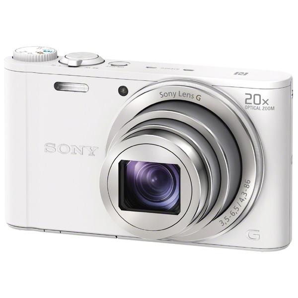 Цифровой фотоаппарат SONY Cyber-shot DSC-WX350 белый DSCWX350W.RU3