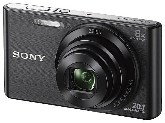 Цифровой фотоаппарат SONY Cyber-shot DSC-W830 Black DSCW830B.RU3