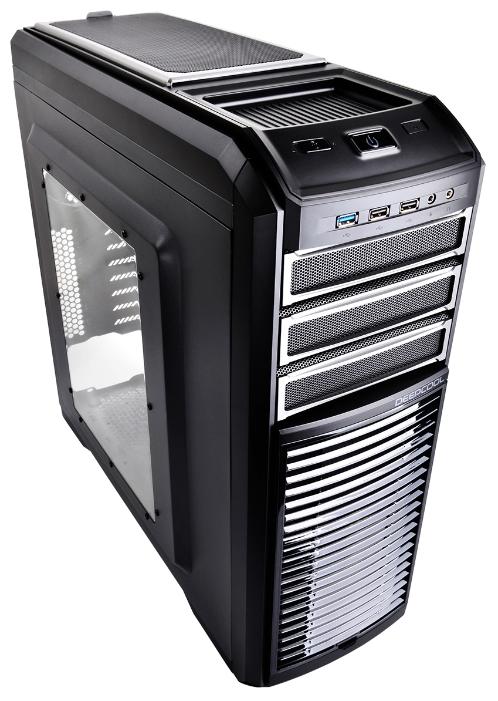 Корпус Deepcool Kendomen TI (без БП, боковое окно), черный