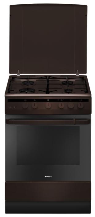 Плита Hansa FCGB61101 коричневая