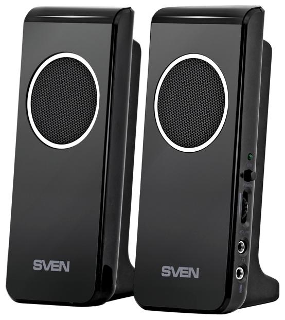 Компьютерная акустика Sven 314, черный SV-0110314BK