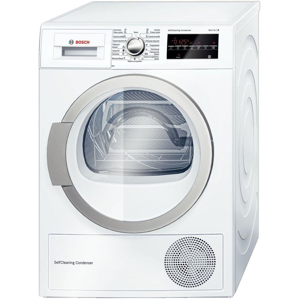Сушильная машина для белья Bosch WTW85460OE белая